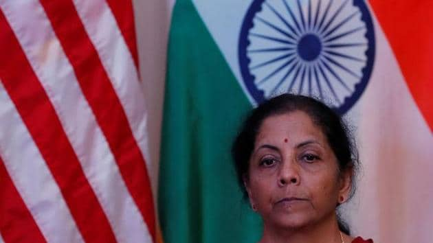 India's Finance Minister Nirmala Sitharaman will be holding daily press conferences till Sunday.(REUTERS)