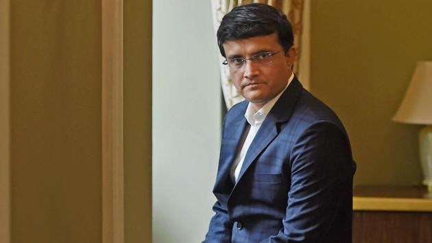 Sourav Ganguly during a press conference in Mumbai.(PTIHH)
