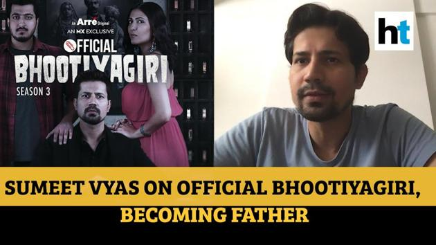 Actor Sumeet Vyas talks to Ruchi Kaushal of Hindustan Times about his new show Official Bhootiyagiri, prepping for the arrival of his baby and life in lockdown.