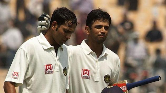 VVS Laxman and Rahul Dravid(Twitter)