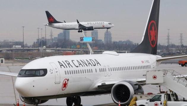 Canada's largest airline, Air Canada, has said the coronavirus pandemic has forced it to reduce scheduled flights by 95% and it doesn't expect normal traffic to return anytime soon.(Reuters File)