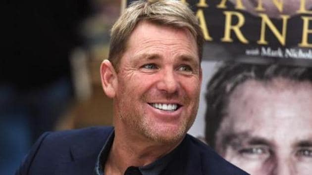 Australian cricketing great Shane Warne.(AFP)
