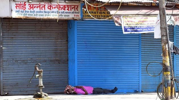 The guidelines for lockdown 4.0 have been designed by the Union government to start economic activity at a standstill for over 54 days now across India.(RAJ K RAJ/HT PHOTO.)