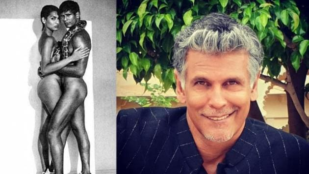 Milind Soman revisits memories of his famous photoshoot.