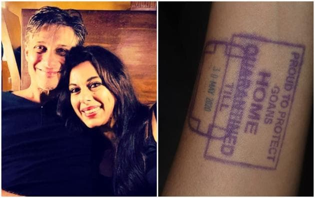 Pooja Bedi and her fiancé Maneck Contractor recently drove to their Goa home.