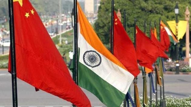 India and China have an unresolved border dispute that has cast a shadow on ties for decades.(Arvind Yadav/HT File Photo)