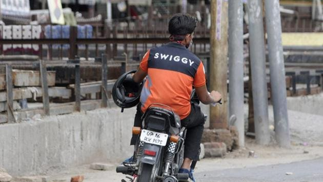 The move by Swiggy came days after restaurant aggregator Zomato said it will lay off around 13% of its workforce.(Sunil Ghosh/HT file photo)