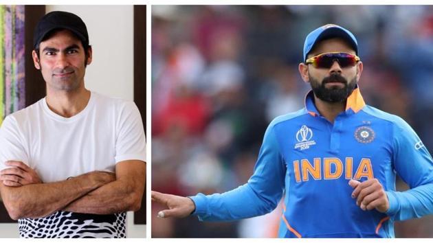 Mohammad Kaif and Virat Kohli.(HT/Reuters)