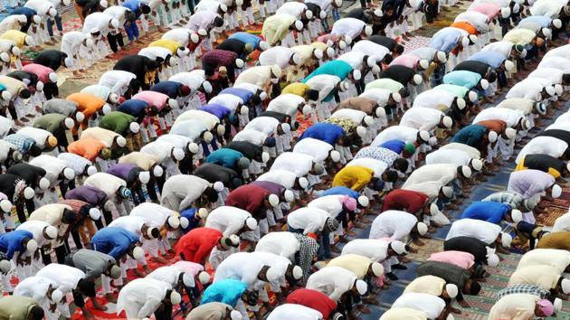 The Ramzan month began on April 25 and will continue till May 24.(Diwakar Prasad/ Hindustan Times)