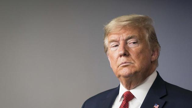 File photo: US President Donald Trump.(Bloomberg)