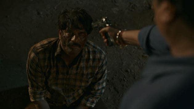 Jaideep Ahlawat as Inspector Hathi Ram Tyagi in a still from Paatal Lok.