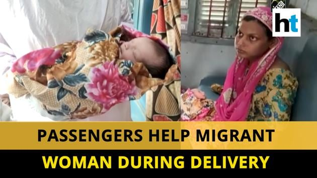 A pregnant woman gave birth to a child in a Shramik special train on May 19. She was one of the migrants travelling from Gujarat's Surat to Bihar's Sitamarhi. Women passengers provided assistance during the delivery. A doctor at Danapur informed that both the mother and the bay were doing well. Watch the full video for more.
