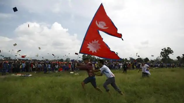 The three territories were shown as part of Byas rural municipality in Darchula district of Sudurpaschim province.(Reuters)
