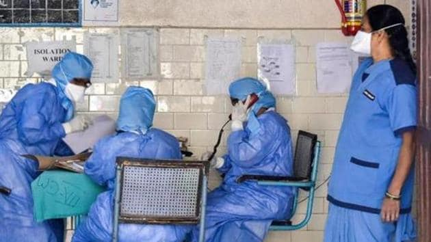 The court ruled that only those private hospitals and labs which are authorised by the Indian Council of Medical Research could admit patients and conduct tests for Covid-19 in Telangana.(PTI PHOTO.)