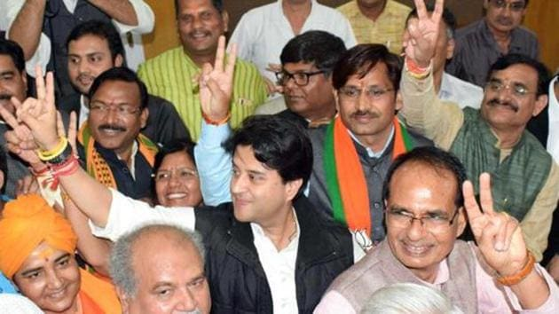 The by-polls have been necessitated as seats fell vacant after the sitting MLAs resigned.(ANI)