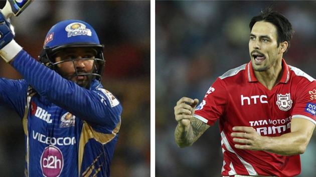 File image of Parthiv Patel and Mitchell Johnson.(IPL)