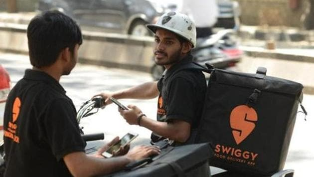 To ensure safe delivery of alcohol in compliance with applicable laws, Swiggy has introduced measures such as mandatory age verification and user authentication to complete deliveries pic by Hemant Mishra/mint
