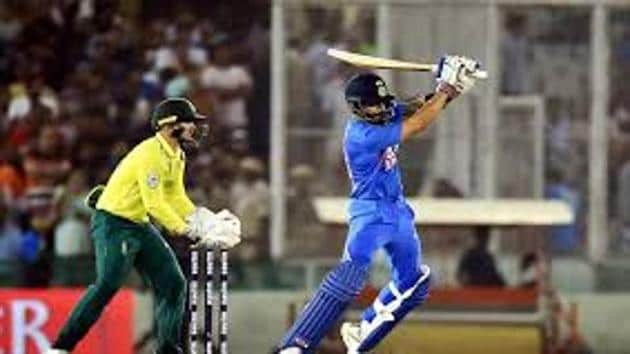 File image of India vs South Africa.(PTI)