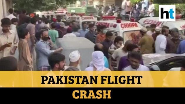 A Pakistan International Airlines (PIA) flight crashed near Karachi with over 100 passengers on board. The flight reportedly crashed near Jinnah International Airport as it was about to land. There were no immediate reports on the number of casualties. Pakistan PM Imran Khan tweeted over the incident. Further reports about the incident are awaited. Watch the video for more.