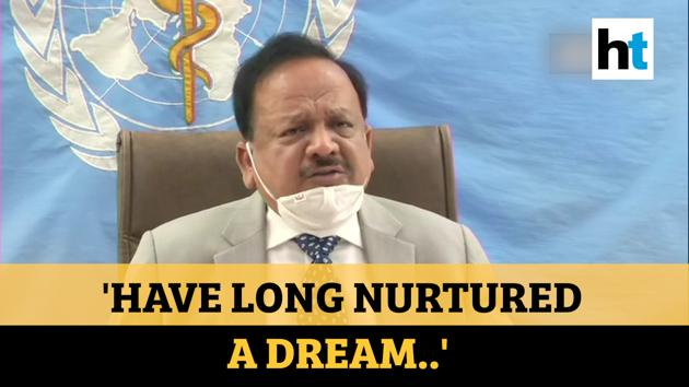 Dr. Harsh Vardhan took charge as the Chairman of the WHO executive board. India's Health Minister thanked all the member nations and expressed condolences to the family members of all those who had succumbed to the Covid-19 pandemic. Dr. Harsh Vardhan also spoke about the Indian govt's Ayushman Bharat policy during his address to the WHO. Watch the full video for all the details.