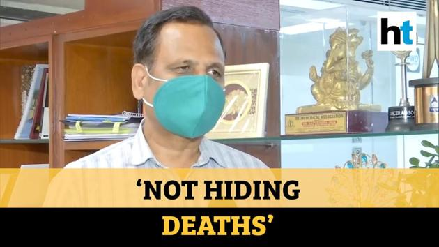"""Delhi's Health Minister Satyendar Jain said no Covid-19 deaths have been missing from the records in the capital. Jain was speaking on the deaths in suspected Covid-19 patients. """"We are not hiding even one death in Delhi,"""" Jain said. Delhi has over 11,500 cases of Covid-19 as on Friday. Delhi is among the states reporting highest number of Covid-19 cases. Maharashtra tops the number of Covid-19 cases with over 40,500 cases. Tamil Nadu and Gujarat have over 13,900 and over 12,900 cases respectively."""