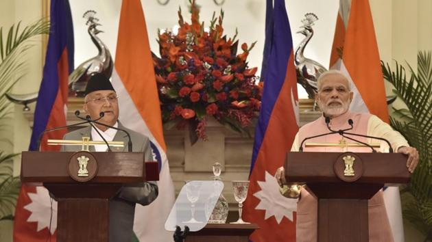 India and Nepal should, through resilient and mutually accommodative diplomacy, resolve the issue. A prolonged dispute will be exploited by third parties(Sonu Mehta/HT PHOTO)