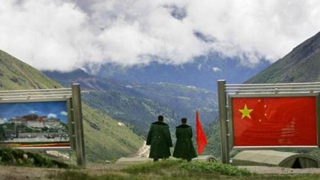 According to data from Indian security officials, the India-China border has been unusually active since last year with a 64% rise in incidents since 2018.(AP file photo. Representative image)