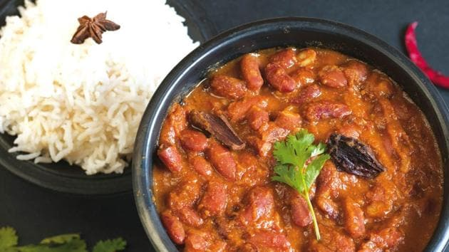 Rajma is usually made with fresh tomatoes over a stove top and often finished with a glug of cream(Shutterstock)