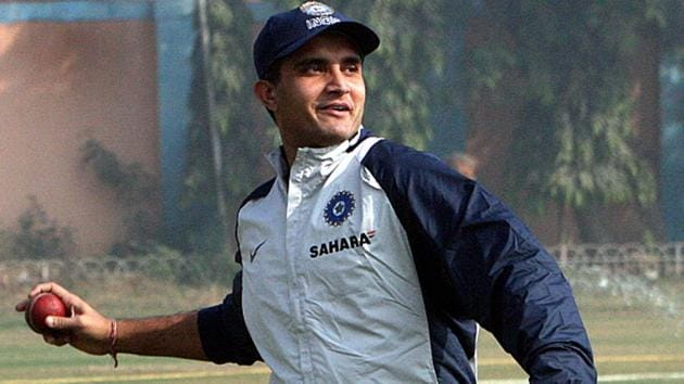 BCCI president Sourav Ganguly(Hindustan Times via Getty Images)