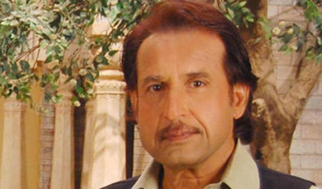 Kiran Kumar in a still from the television show Grihasti.