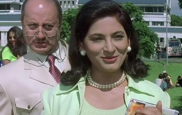 Archana Puran Singh and Anupam Kher played Miss Braganza and Malhotra, respectively, in Kuch Kuch Hota Hai.