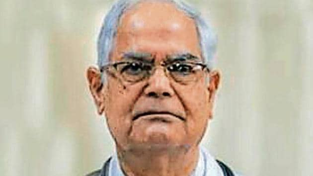 Dr Jitendra Nath Pande, former head of the department of medicine at the All India Institute of Medical Sciences (AIIMS)