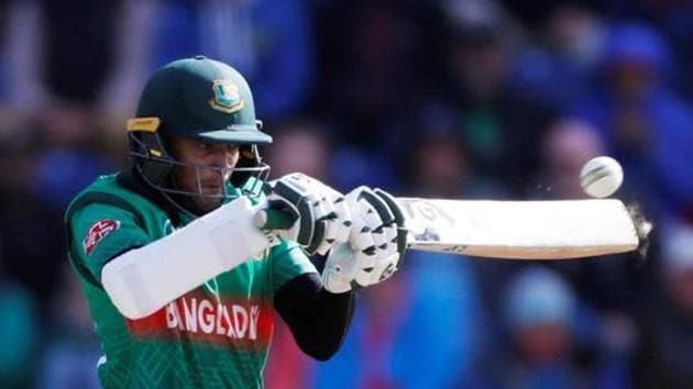 Cricket - ICC Cricket World Cup - England v Bangladesh - Cardiff Wales Stadium, Cardiff, Britain - June 8, 2019 Bangladesh's Shakib Al Hasan in action Action Images via Reuters/Paul Childs(Action Images via Reuters)