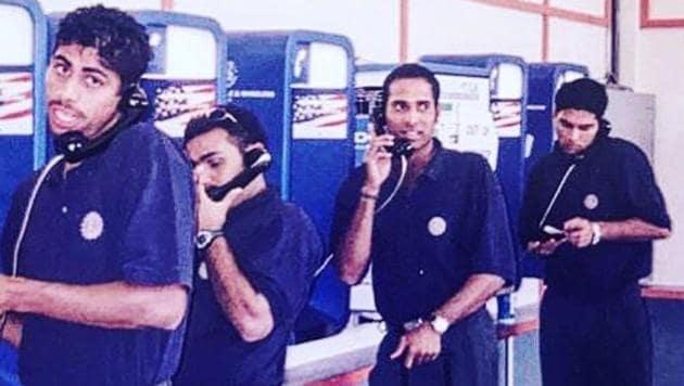 Yuvraj Singh's latest post is from India's 2001 tour of Sri Lanka(Instagram)
