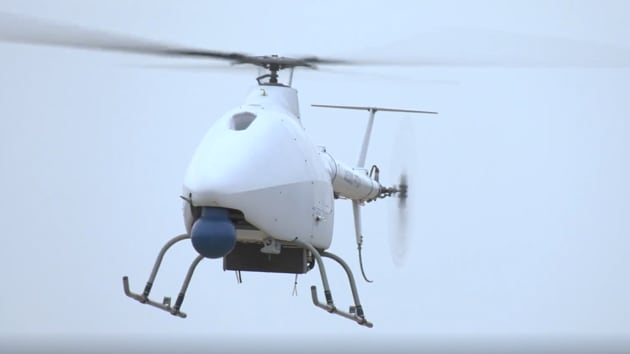 The AR500C unmanned helicopter is equipped to carry out fire strikes, according to reports.(Sourced)