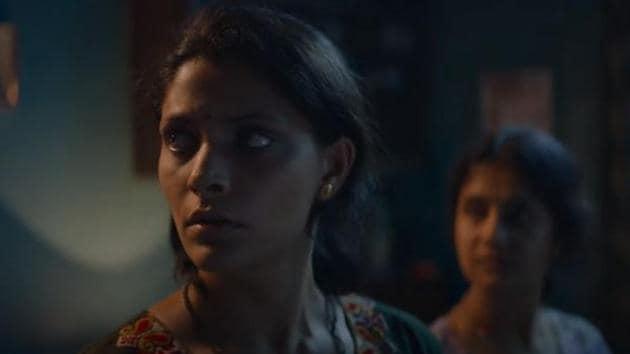 Saiyami Kher in a still from Choked.