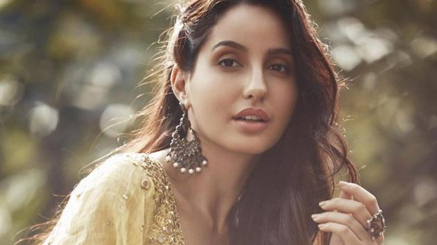 Nora Fatehi is grateful to be safe during the 'crazy time' of the pandemic.