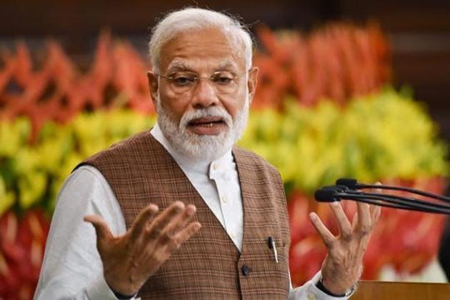 The Prime Minister had announced a 21-day nationwide lockdown on March 24 as a precautionary measure to contain the infections.(PTI)