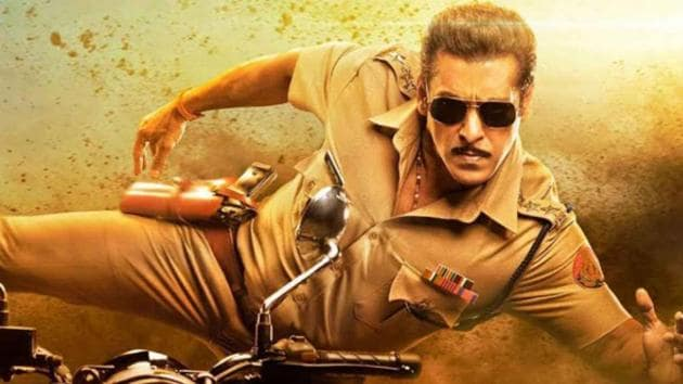 Salman Khan plays a twisted cop with a heart of gold in the Dabangg franchise.