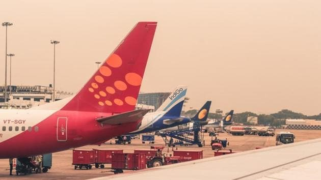 """""""I'd received a call around 1 a.m. from IndiGo to say my flight from New Delhi to Mumbai was canceled. That's it. No explanation.""""(UNSPLASH)"""