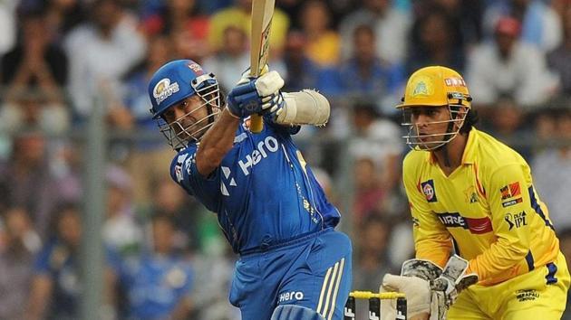 Sachin Tendulkar and MS Dhoni(IPL)