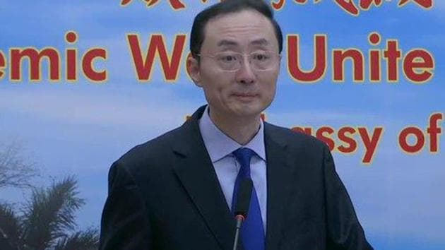 """Chinese envoy in India Sun Weidong stressed that any """"differences"""" between the two nations can be solved through communication. (ANI file photo)"""