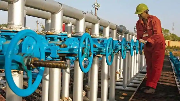 The blowout happened while work was underway to produce gas from a new oil and gas-bearing reservoir at a depth of 3,729 metres. (Representative Image)(HT File Photo)