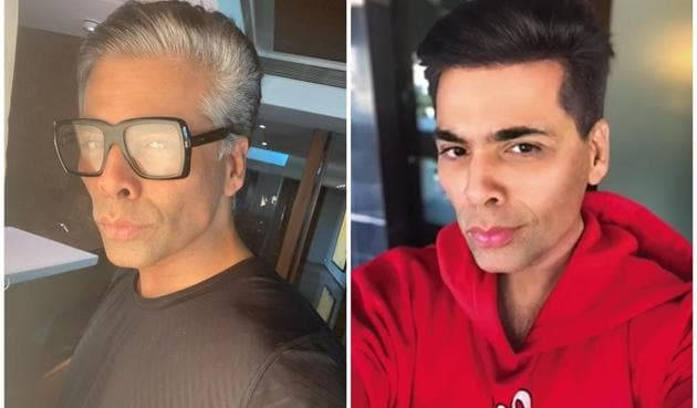 Karan Johar recently coloured his hair after being called 'buddhha' by his children Yash and Roohi.