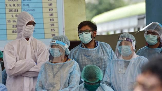 There are 1,596 active coronavirus cases in the state, the health department said in its mid-day bulletin.(PTI file photo)