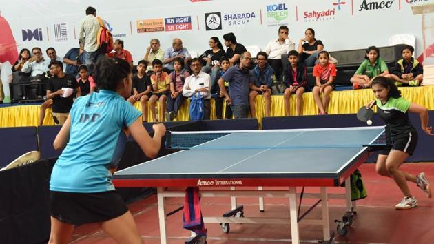 50th Inter district championship 81st Maharashtra State Table Tennis Championship,(HT PHOTO)