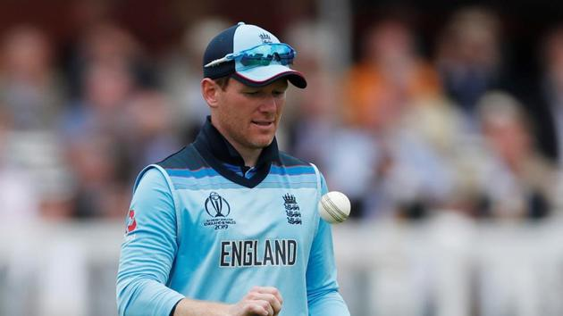Eoin Morgan during the 2019 World Cup.(Action Images via Reuters)