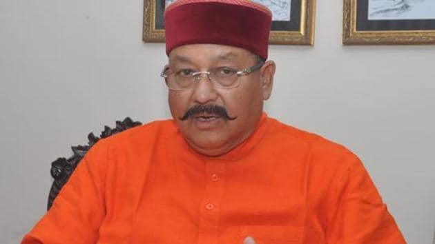 Uttarakhand tourism minister Satpal Maharaj(HT File Photo)