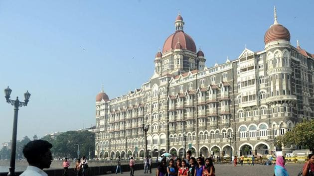 10 terrorists who came from Pakistan had attacked multiple sites in Mumbai in the November 26,2008 attacks, including the Hotel Taj (seen here).(AFP File Photo)