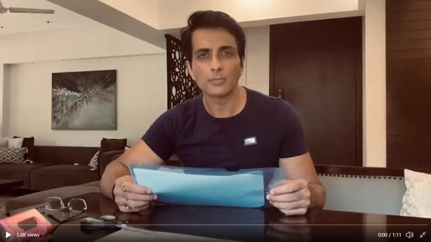 Sonu Sood has been helping migrant workers since early May.